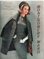 1962 Montgomery Ward Fall and Winter Catalog Oakland, CA- Very Good Condition