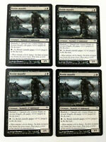 MTG Magic Playset 4x Ronin maudit Cursed Ronin  Guerriers Kamigawa  EXC VF