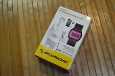 Scosche Rhythm Pulse Armband HeartRate Monitor with Music Control Bluetooth PINK