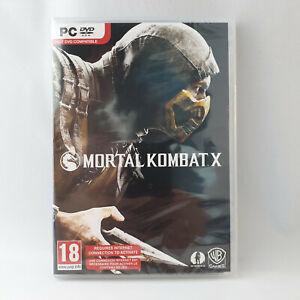 PC DVD-Rom - Mortal Kombat X NEW SEALED