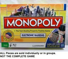 U-pick 2008 Monopoly electronic banking US cities Edition replacement pieces