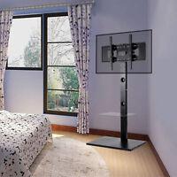 TV Floor Stand Mount DVD Shelf For 32 42 50 55 60 65 RCA Sharp Vizio Flat Screen
