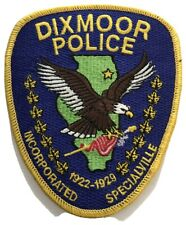 Dixmoor Police Department, Illinois Shoulder Patch
