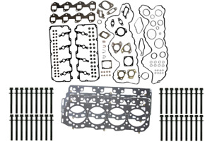 ".0394"" Thick Head Gasket Set w Bolts for 2007-2010 Duramax 6.6L LMM"