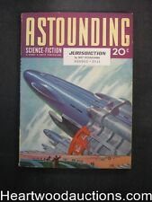 Astounding Aug 1941 Heinlein, Williamson Story - High Grade