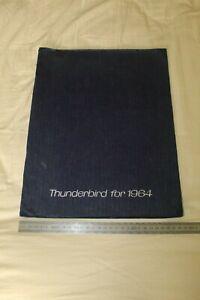 (62) Large Brochure catalogue 1964 FORD Thunderbird '64