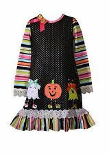 BONNIE JEAN® Little Girls' 4, 5, 6, 6X Halloween Friends Dress NWT $55