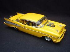A Danbury mint  1957 Chevrolet Bel-air pro street hardtop  ( NM. )