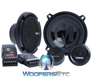 "MEMPHIS PRX50C 5.25"" 100W PRO CAR AUDIO PEI DOME TWEETERS COMPONENT SPEAKERS NEW"