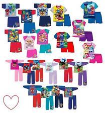 Chicas chicos Pijama Conjunto Pijama para Niños Ropa De Dormir Para Dormir Pijama Largo Corto