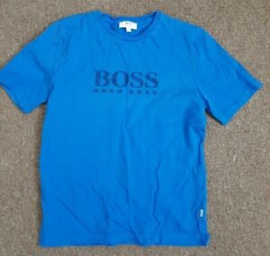Boys Hugo Boss T-shirt - Age 10