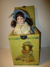 Limited Edition Enesco Musical DOLLY Jack-In-The-Box 1st In The Attic Series