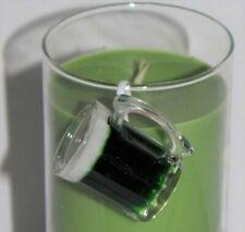 RETIRED YANKEE CANDLE Green Beer Mug Jar Clinger Charm, St Patrick's Day, NWT