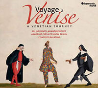 Akademie für Alte Musik Berlin : Voyage À Venise CD 3 discs (2019) ***NEW***