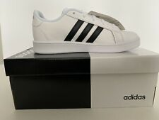 Adidas Grand Court K Size 13K Black & White Brand New! Kids Tennis Shoe