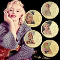 WR Marilyn Monroe US Star Herausforderung Münze als schönes Geschenk für Fans