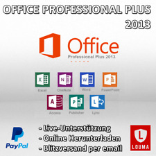 Microsoft Office 2013 Professional Plus 32/64 Bit PC Product key per EMail