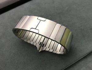 Genuine Original apple watch band 42mm/44mm Link Bracelet - Silver 90%New