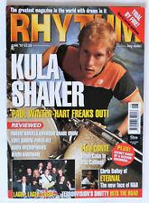Rhythm Magazine: June 1997, Luis Conte, Chris Bailey, Paul Winter-Hart..Etc.