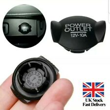 12V Power Socket Lighter Cigarette Outlet Cover Cap For Ford Focus Fiesta Mondeo