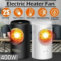 300W 400W Mini Portable Electric Heater Warmer Switch/Touch Screen Office