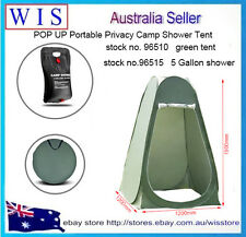 POP UP Portable Privacy Camp Shower Room Tent w 20L Outdoor Camping Water Bag