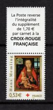 Timbres CROIX ROUGE Neuf**MNH 2005 n°3840 + Vignette