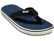 NWT VANS La Costa Lite FLIP FLOPS Beach Sandal DRESS BLUE / MARSHMALLO MENS 9-13