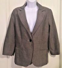Cabi Barrister Blazer Career Womens Size 8 One Button Jacket Classy Work Attire