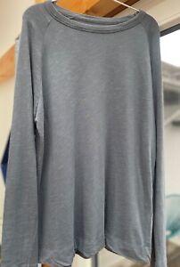 AMERICAN VINTAGE Lounge Sweatshirt, Größe M, Supima Baumwolle