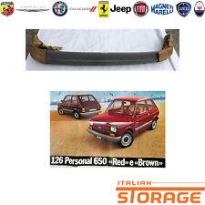 FIAT 126 PERSONAL RED E BROWN PARAURTI POSTERIORE GRIGIO NUOVO ORIGINALE 4447939