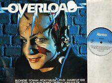 OVERLOAD blondie/the beat/japan/fun boy three/depeche mode/toyah/yazoo LP EX/EX-
