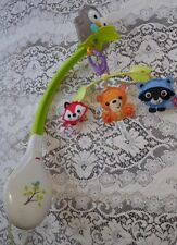 Fisher Price Woodland Friends Musical 3 in 1 Mobile Crib Lullaby Music for Baby