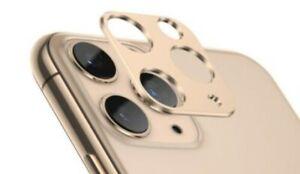 For iPhone 11 /11 Pro / MAX  Metal Camera Lens Protector Bumper Ring Slim Film