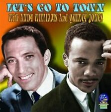 ANDY WILLIAMS/QUINCY JONES - LET'S GO TO TOWN: NATIONAL GUARD SHOWS, 213-216 NEW