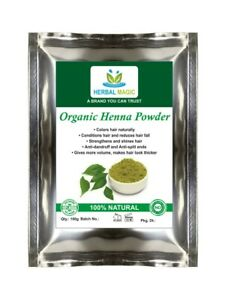 100g -1kg Certified Organic Henna Powder Triple- Sifted Henna Natural Hair Color