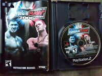 WWE Smackdown vs Raw 2006 PS2 Game Disc Only Pre Owned Working Lite Scratches