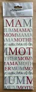 Glick Mum With Lots Of Love Tissue Paper Pack