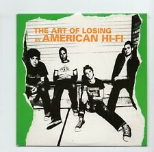 (JI41) American Hi-Fi, The Art Of Losing - 2003 DJ CD