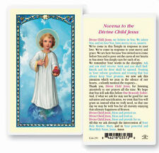 Novena To The Divine Child Jesus Holy Card (25 per Pack)