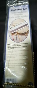 LoRan Needleholder Card Magnetic Sealed Cross-Stitch Needle Work Crafts