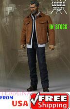 1/6 Men Jacket Jeans Set For Wolverine Logan X-Men Hot Toys ❶USA❶ IN STOCK