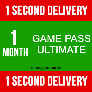 1 MONTH XBOX GAME PASS ULTIMATE MEMBERSHIP- Instant Delivery Xbox One 360 Series