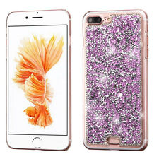 For Apple iPhone 7 & 7 PLUS Diamond Desire Back BLING Hard Case Phone Cover
