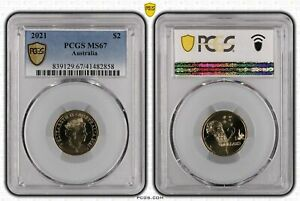 2021 $2 Coin PCGS MS67