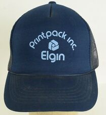 Printpack inc Elgin mesh trucker snapback Baseball Cap Hat Adjustable