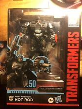 transformers studio series deluxe class 50 Hot Rod MISB Complete