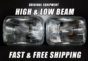 OE Front Halogen Headlight Bulb For Ford E-350 Super Duty 1999-2018 Low/High x2