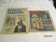 News Of Science-Fiction & Fantasy #1 1977 Star Wars + People News Star Wars #11
