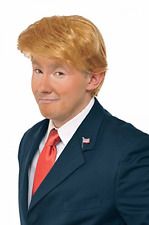 Donald Trump Wig Costume Accessory Billionaire Hair Adult adjustableFancy Dress